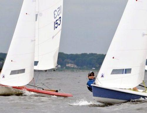 Sailing Vanguard 15s Upwind in Breeze : Like a Laser or Like a 420?