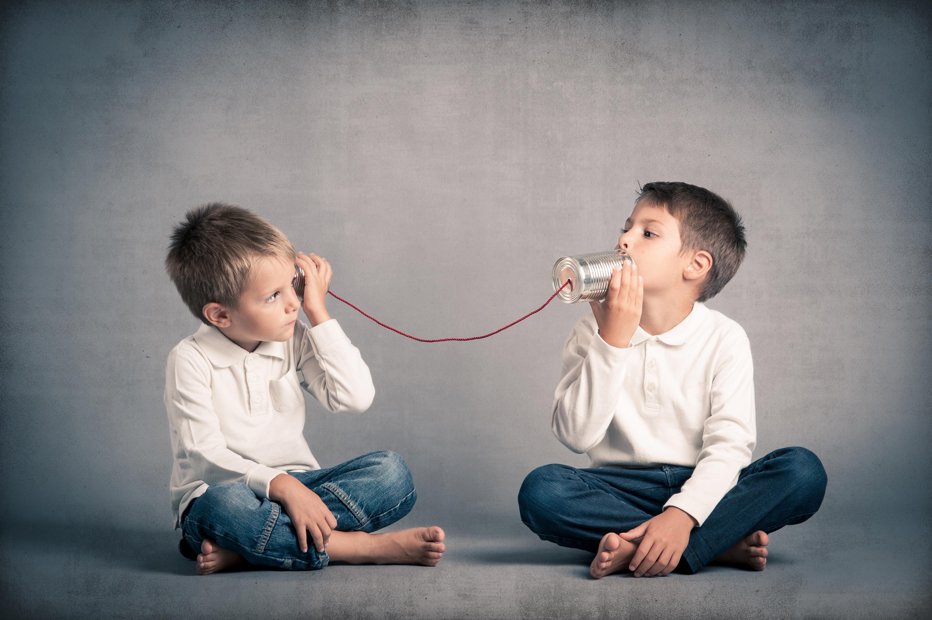 kids, playing, communication